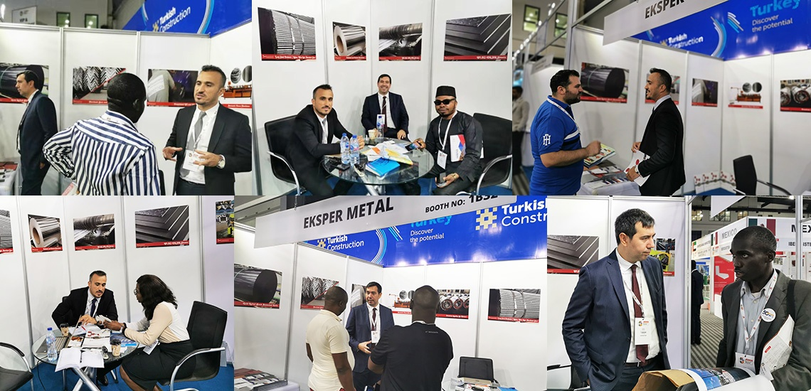 Eksper Metal at Big5 Construct Nigeria Exhibition